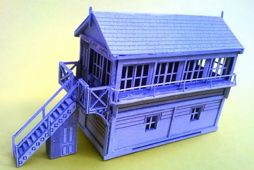 ARCH ALN0014 N scale LBSC Wooden Signal Box Kit